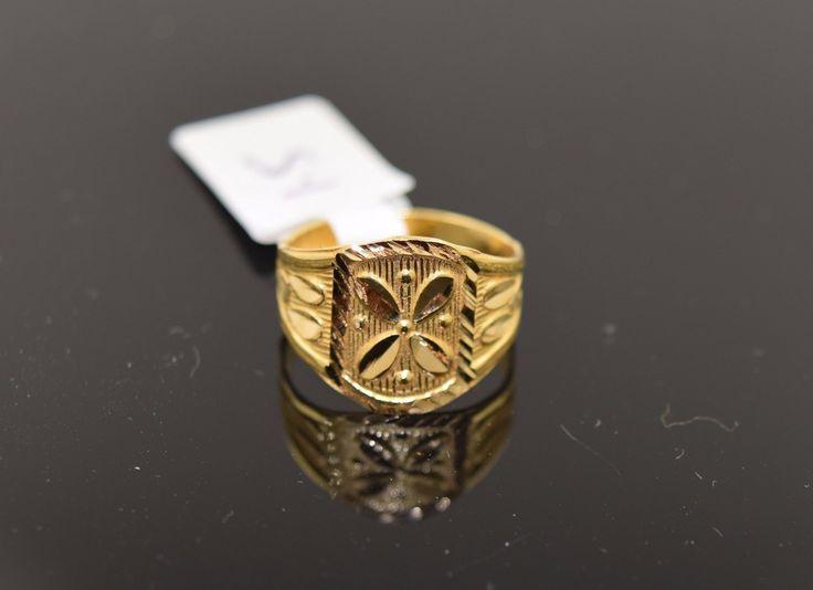 "22k 22ct Solid Gold ELEGANT BABY KIDS Ring ""RESIZABLE"" size 3 R434"