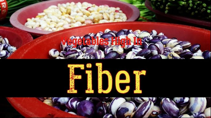 Top 20 Vegetables High In Fiber