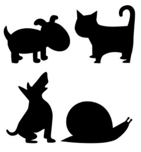 siluetas negras de animales para recortar , para aprender a recortar os traemos estas siluetas de animales  con diferentes dificultades par...
