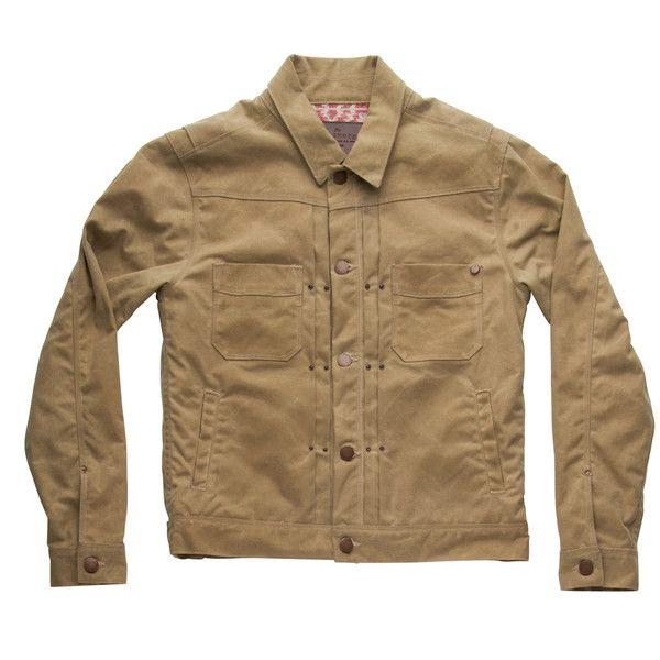 Freenote Cloth | Waxed Riders Jacket - Tobacco | $400