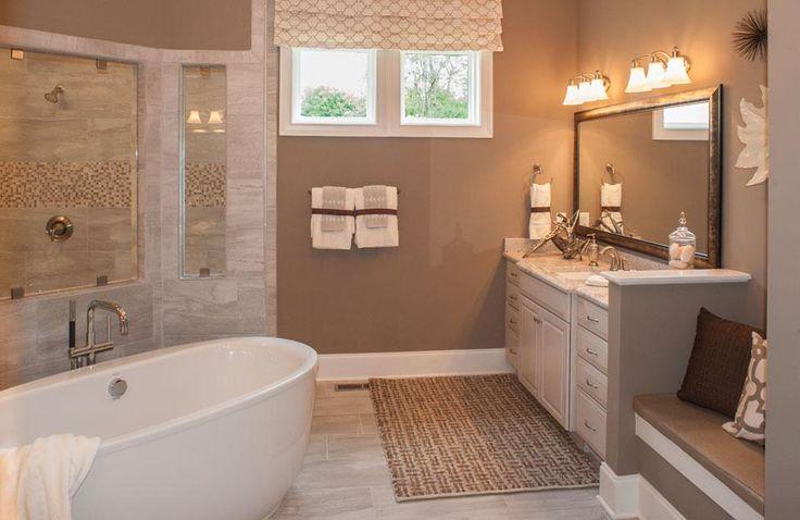 master bath split vanities tub glass shower ceramic tile