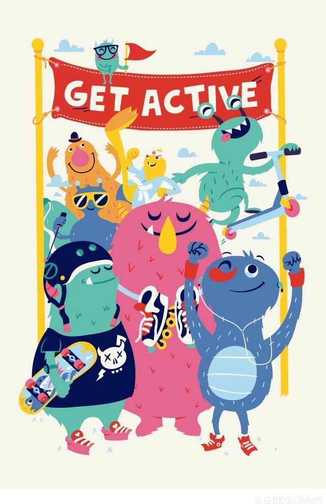 Get Active - Greg Abbott