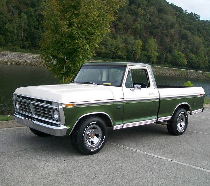 """1,022 Likes, 14 Comments - LMC Truck (@lmctruck) on Instagram: """"Randy Ruffner's 1974 Ford F-100. #yourtruckyourstory #mytruckmystory #keepemontheroad #ford…"""""""