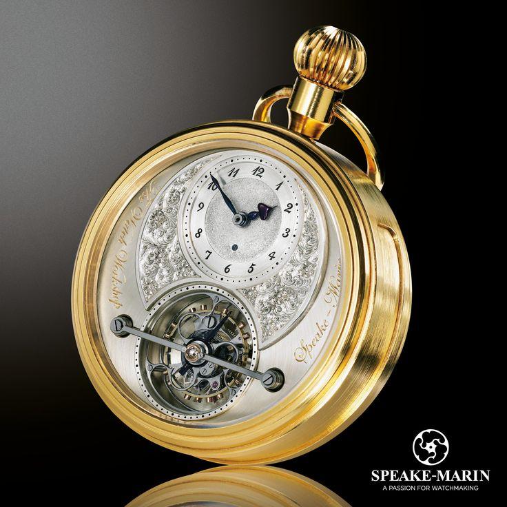 The Foundation Pocket Watch! Finished 16 years ago... The beginning of Speake-Marin! www.speake-marin.com