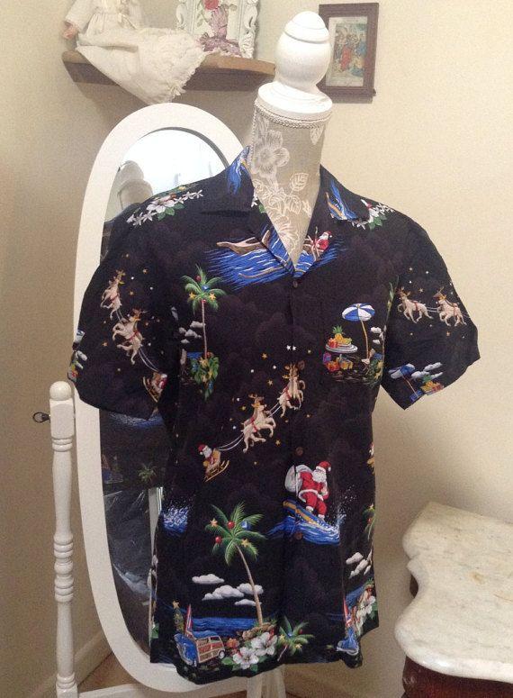 Christmas Hawiian shirt size small. Unisex by MerryLegsandTiptoes