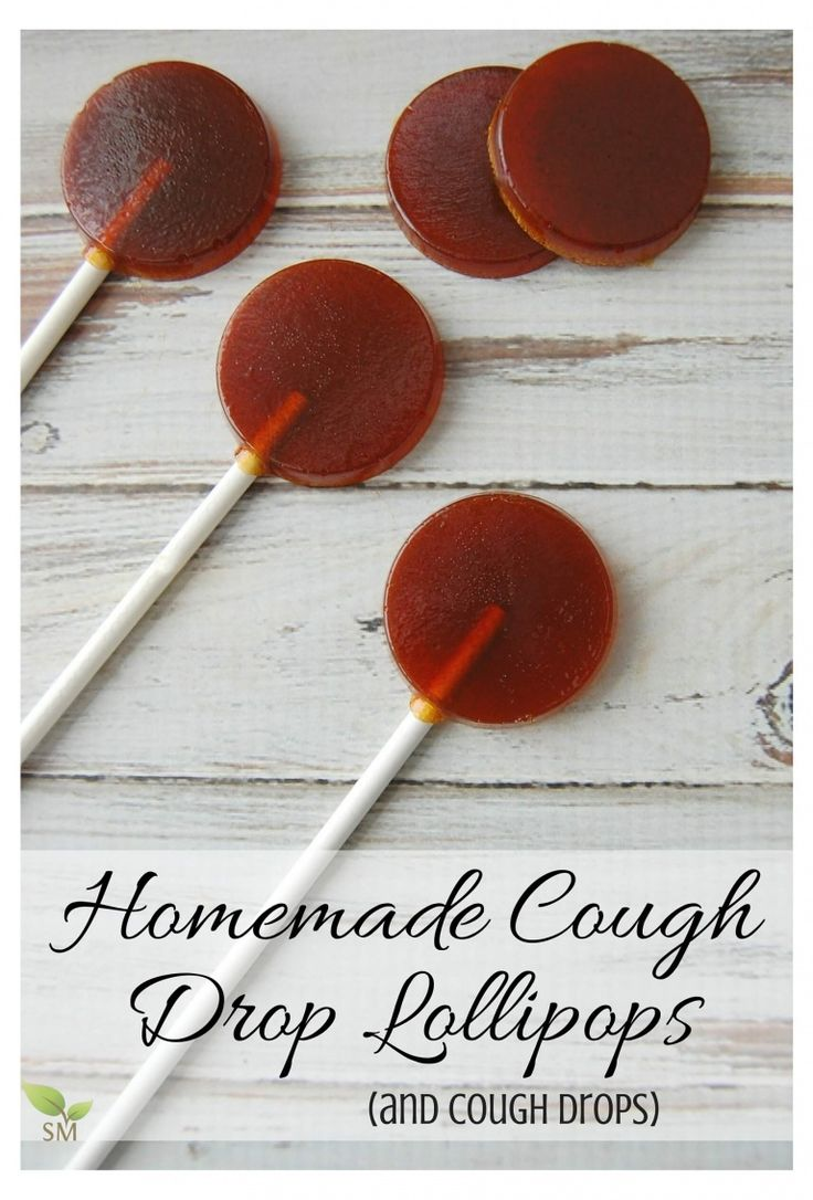 Homemade Cough Drop Lollipops (and cough drops, too)