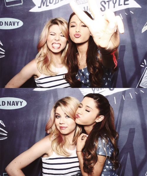Ariana Grande (and Jennette McCurdy, which I used to have a board of)