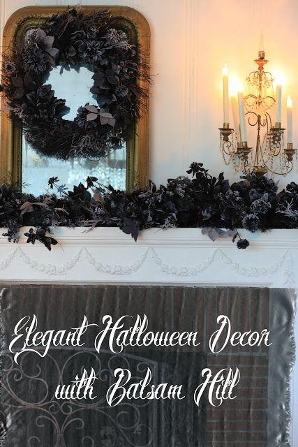 Elegant Halloween Decor with Balsam Hill Halloween Decor - elegant halloween decorations