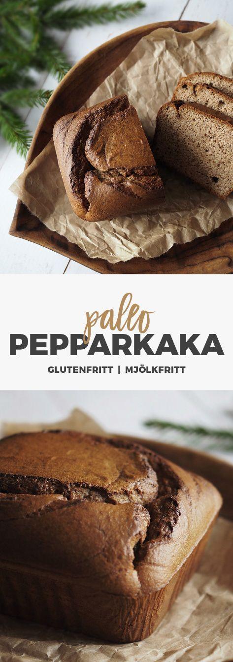 Recept: Mjuk pepparkaka - Paleo. Glutenfri och mjölkfri