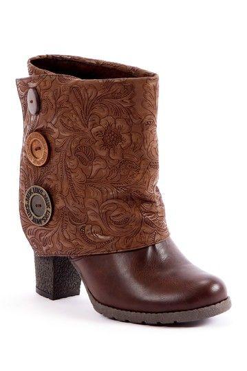 Chris Hort Button-Up Spat Boot by MUK LUKS on @HauteLook