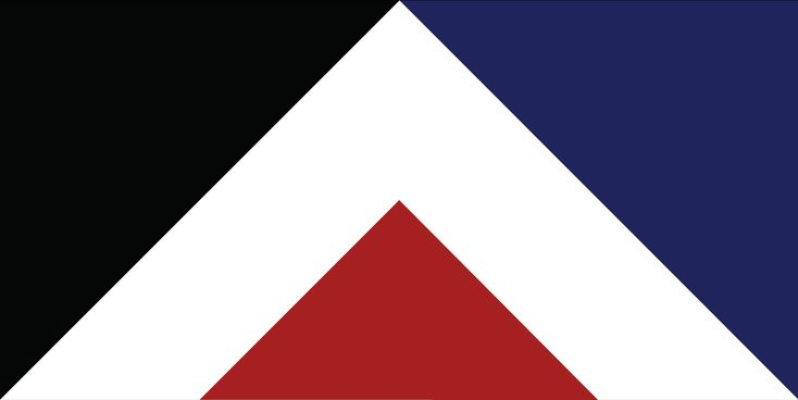 Red Peak by Aaron Dustin, tagged with: Black, Blue, Red, White, History, Landscape.