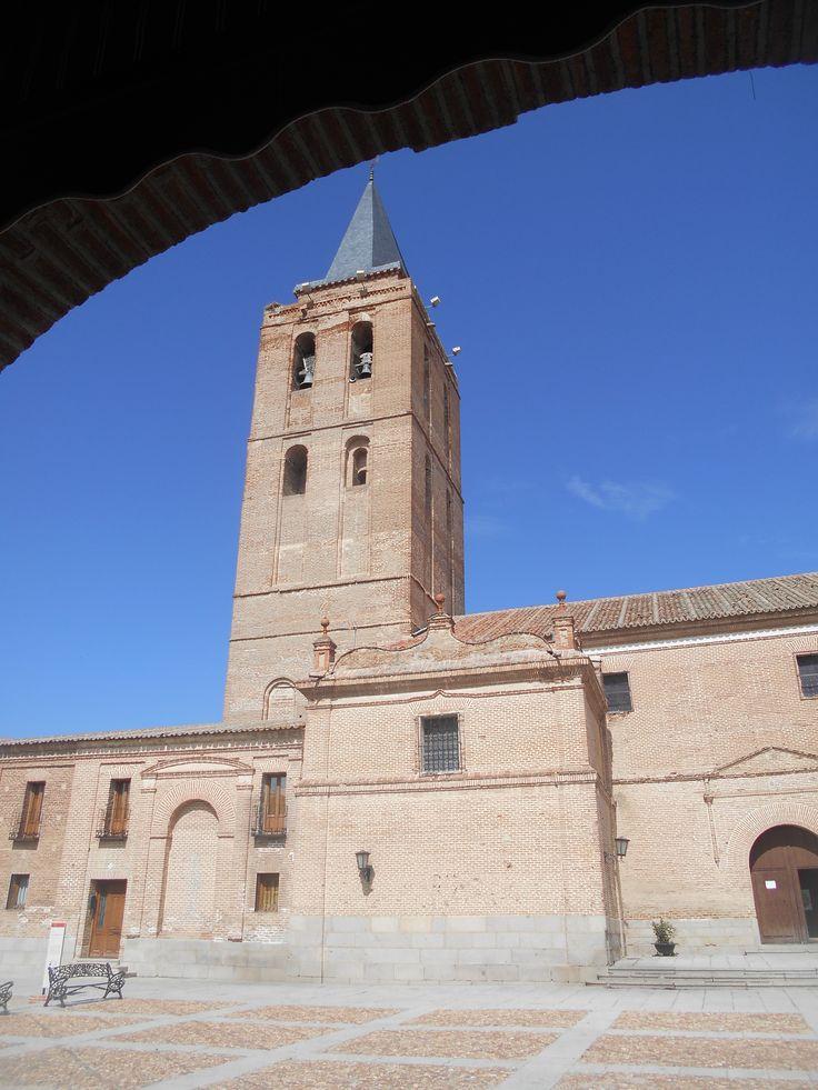 Vista desde arco de la Plaza de San Nicolás