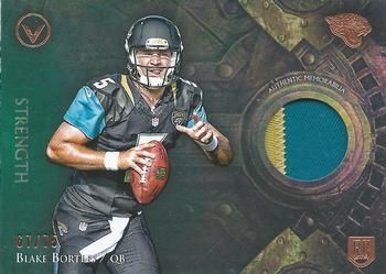 2014 Topps Valor - Patches Strength #VP-BB Blake Bortles Front
