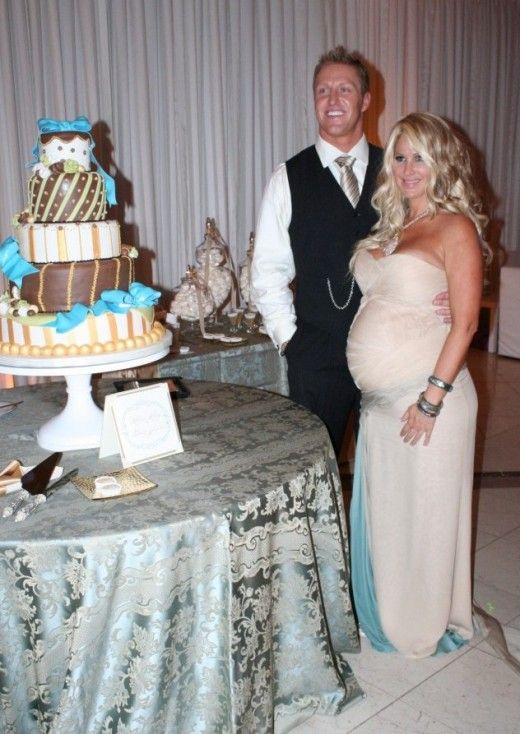 The Real Housewives of Atlanta Kim Zolciak Biermann with her Handsome Husband Kroy Biermann :-)