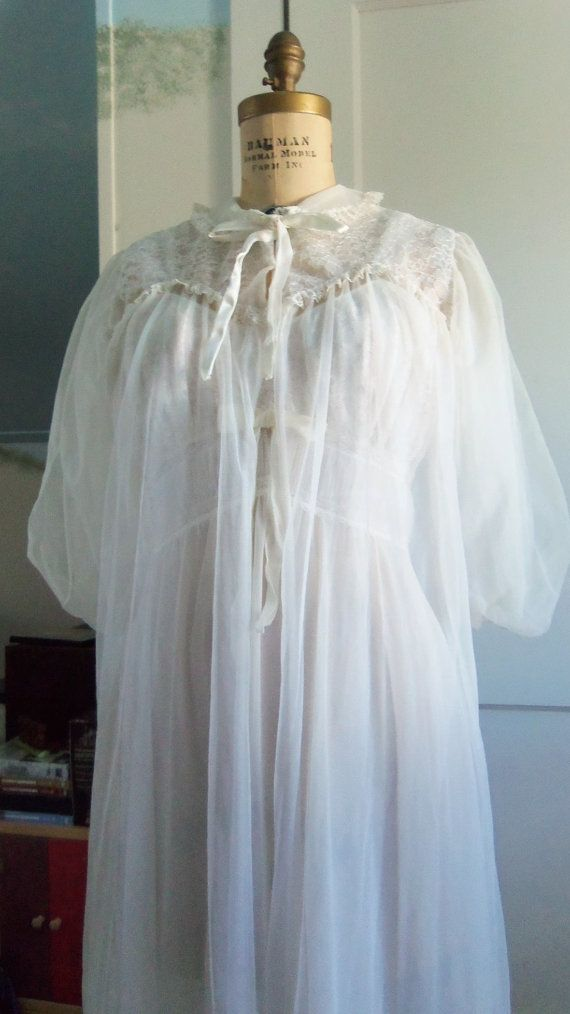 Off White Robe en jurk Set / 60