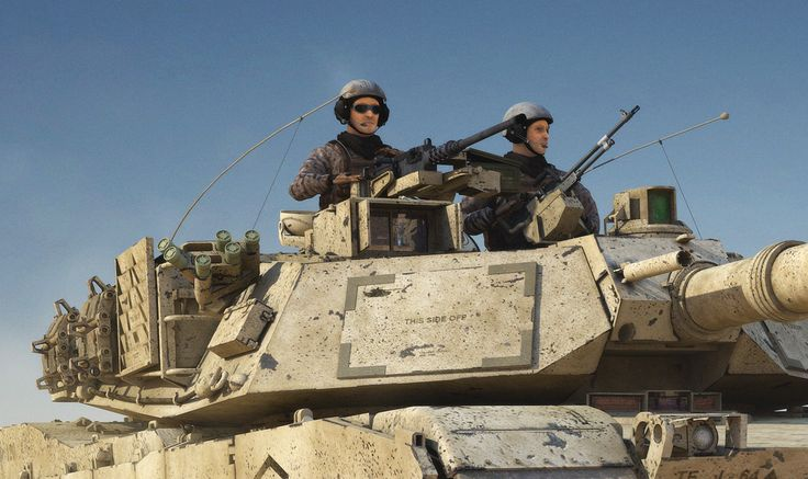 M1 Abrams Desert Storm
