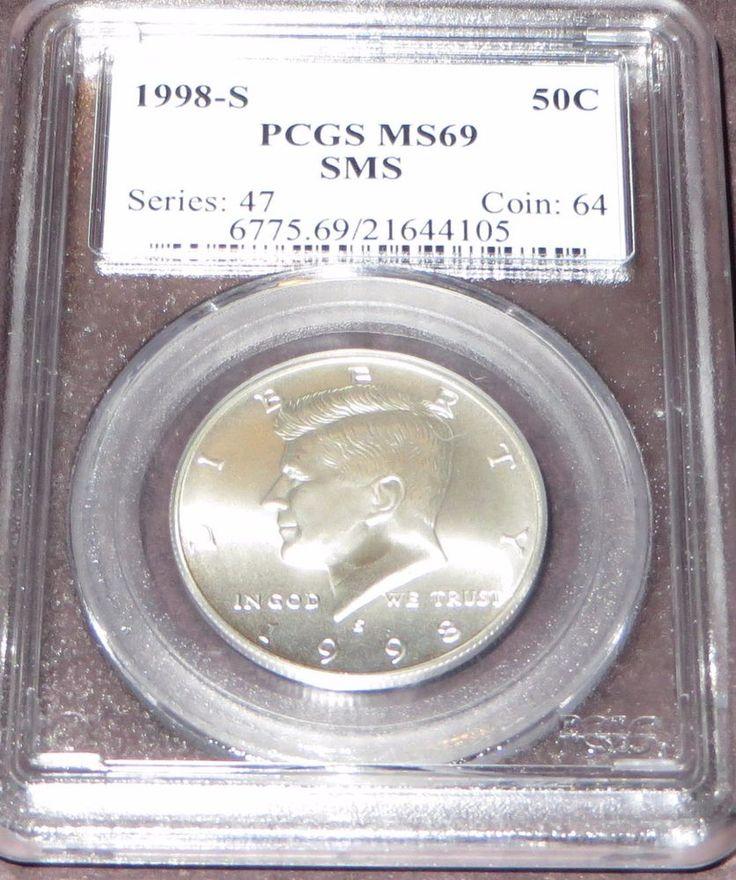 1998-S PCGS MS69 Matte Kennedy Half Dollar /San Francisco Mint