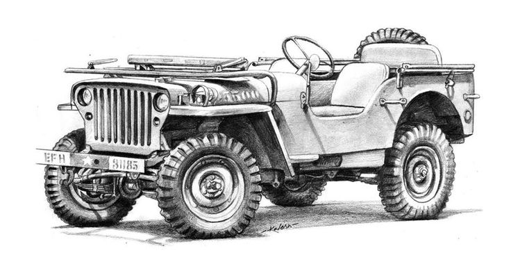 Line Drawing Jeep : Jeep pencil drawing art pinterest jeeps sketches