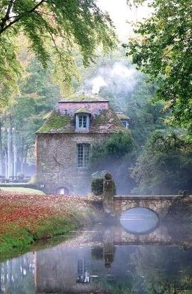 Chateau de Courances ~ is a charming french chateau built in approximately 1630.