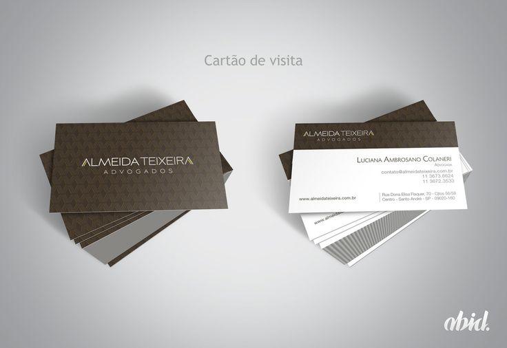 Aplicações de cartão para Almeida Teixeira Advogados Associados.