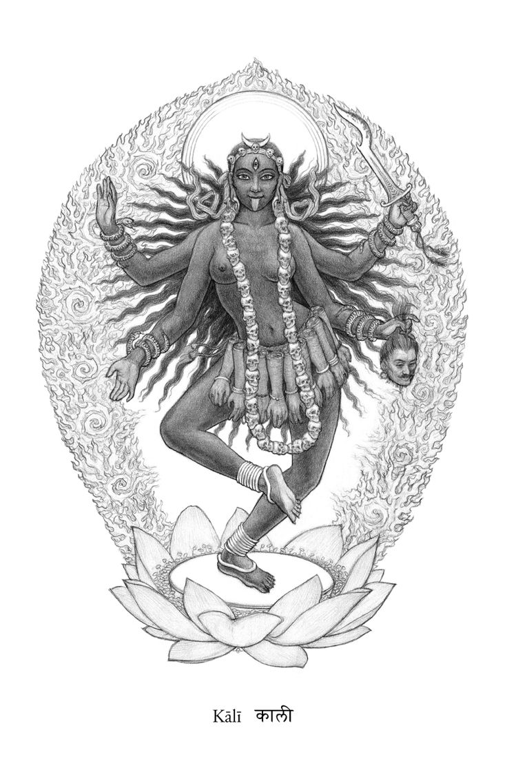 Kali by Ekabhumi Charles Ellik Yoga Pinterest