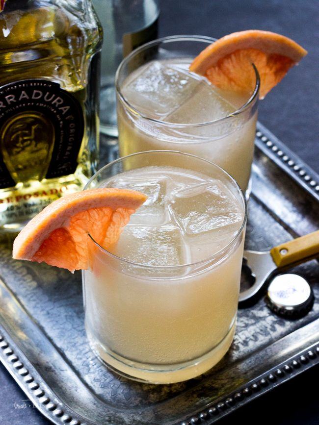 Mexican Mule Cocktail- Treats and Eats