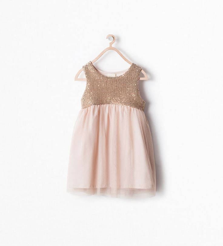 Image 1 of SEQUINNED DRESS from Zara
