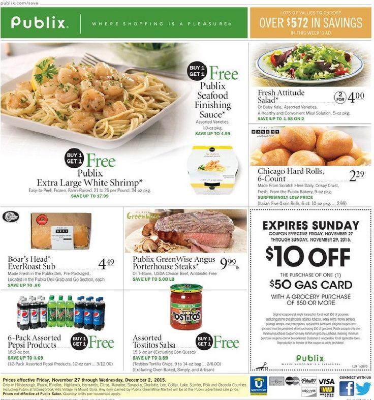 Publix Weekly Ad Nov 26 - Dec 02, 2015 - http://www.kaitalog.com/publix-weekly-ad.html