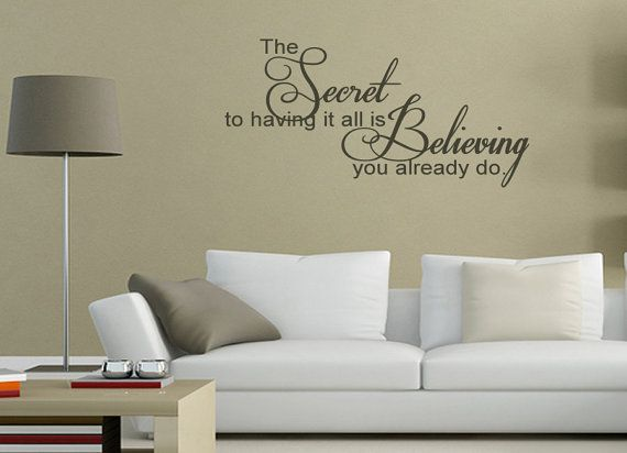 Family Wall Saying The Secret To Having It All Is by KeyReflection, $23.47