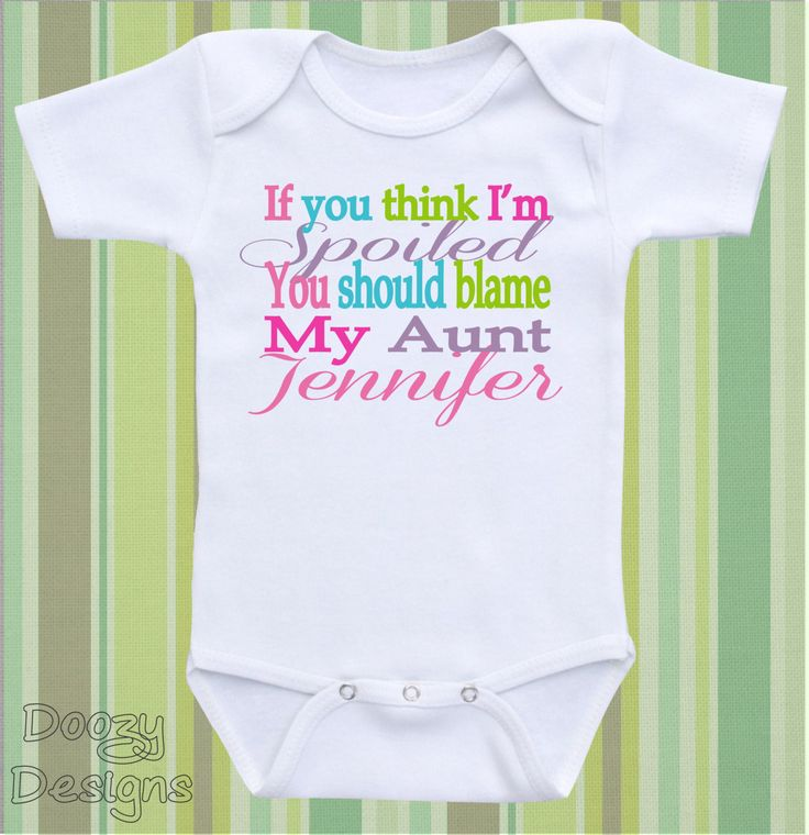135 best baby clothes images on pinterest kindergarten outfit aunt onesie auntie onesie aunt shirt funny aunt gift for niece personalize baby gift if you think im spoiled you should blame my aunt negle Image collections