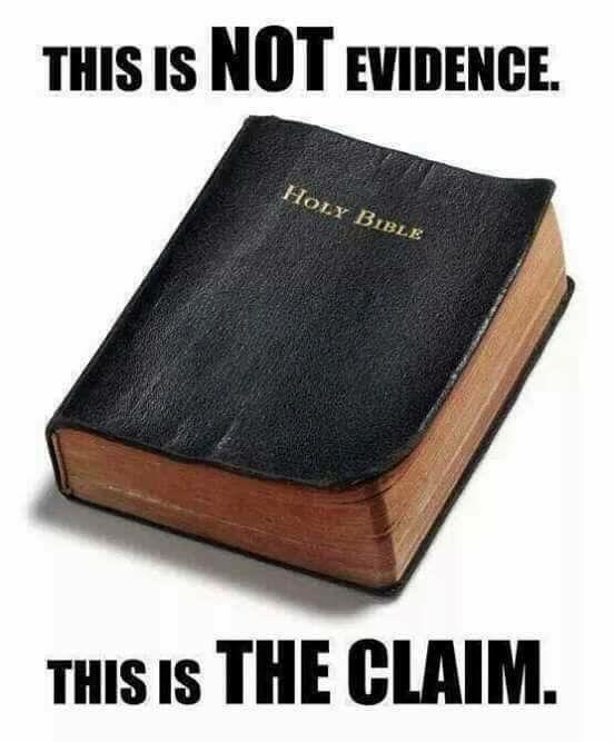 We're still at zero evidence of any gods.