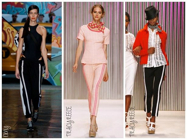 NYFW Spring 2014 Trend Alert: Graphic Pants with a Twist