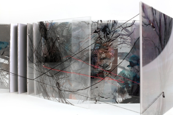 2012 Artist's book. The easier you hold, the deeper you see. by Yang, Yi Jiuan