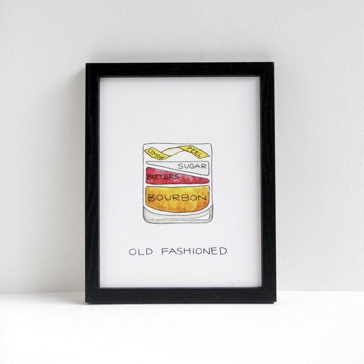 Drywell Old Fashioned Print