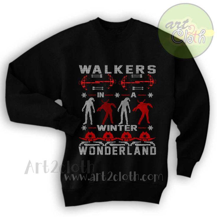Walkers In a Winter Wonderland Unisex Sweatshirts //Price: $28.75 //     #onlineshop
