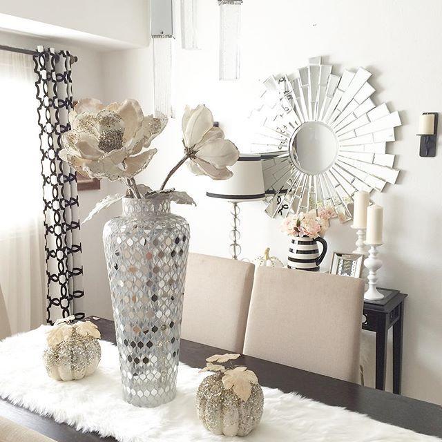 Fall z gallerie decor, or thanksgiving glam decor Pinterest @trulynessa89 ☆