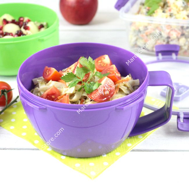 Hermetyczny kociołek obiadowy / lunch box na makaron i nie tylko SISTEMA TO GO | Sistema | 22,99 zł