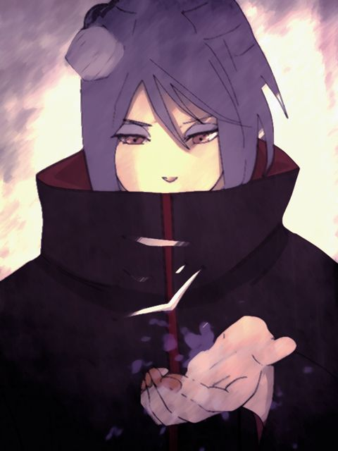 Konan, from Naruto Shippuden. One of my favorite female Naruto characters