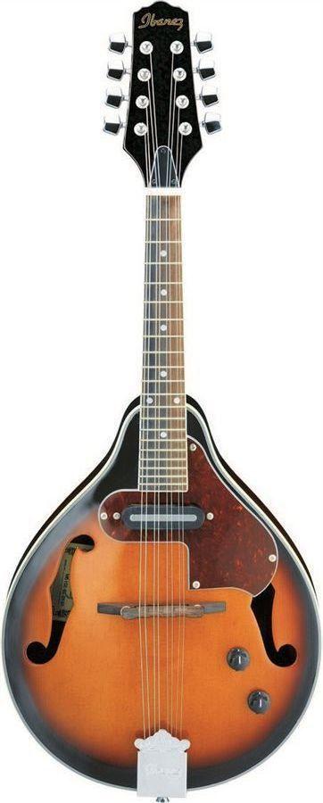 Ibanez M510EBS A-Style Acoustic-Electric Mandolin | Brown Sunburst