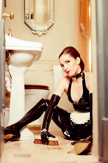 29 best Latex Maid images on Pinterest | French maid ...