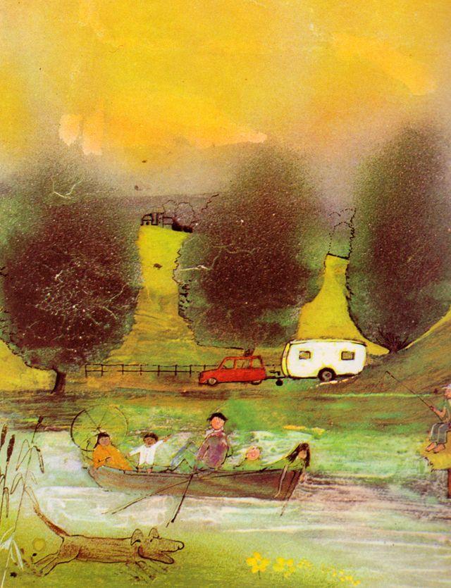CHILDRENS ILLUSTRATION: John Burningham