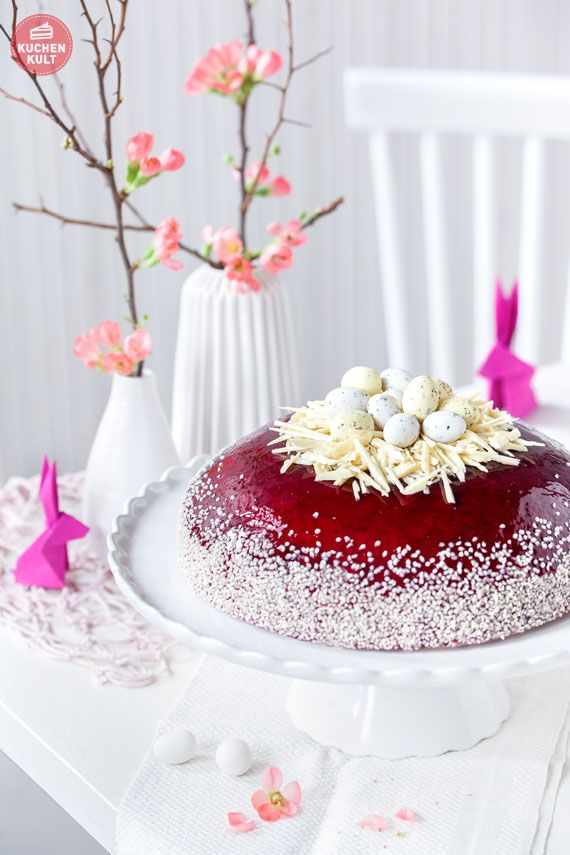 Ostern-Torte-Eier-Nest-Schokolade-Zuckereier