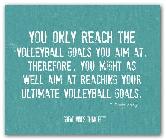 Motivational Quotes For Sports Teams: 17 Best Images About Volleyball Posters On Pinterest