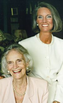 Ruth Bell Graham & daughter Anne