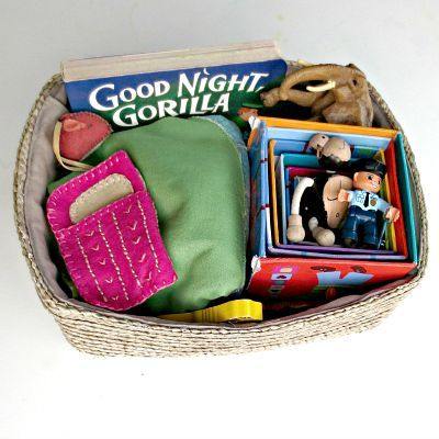 Good Night Gorilla Story Basket