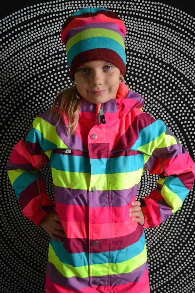 www.aatio.fi, Aati O, lastenvaatteet, Molo Kids, Polaris Girly Rainbow