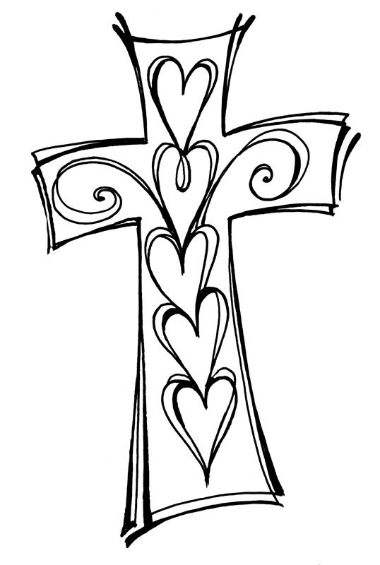 Zenspirations gallery keep the faith doodles for Cross clipart