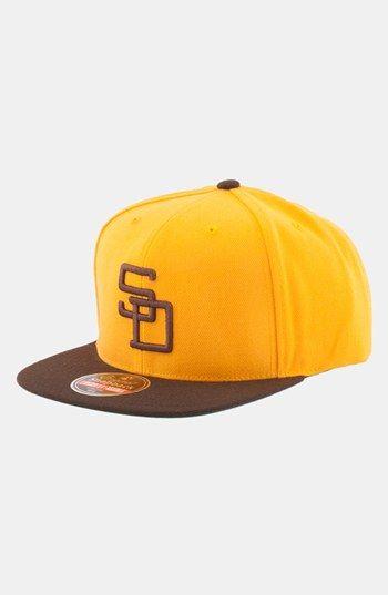 Men's American Needle 'San Diego Padres 1972 - 400 Series' Snapback Baseball Cap - Metallic