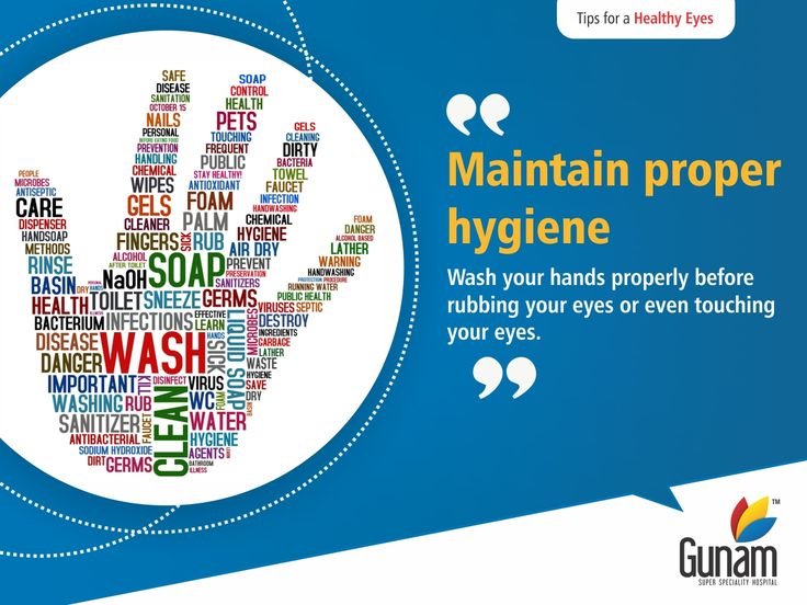 To avoid the risk of infection, always wash your hands.Those who wear contact lens should strictly follow the hygiene instructions to avoid allergies and infections in eyes.  Visit: https://goo.gl/C8n7ym  #GunamSuperSpecialityHospital #healthtips #Healthcare #HospitalinHosur #healthyindia #eathealthy