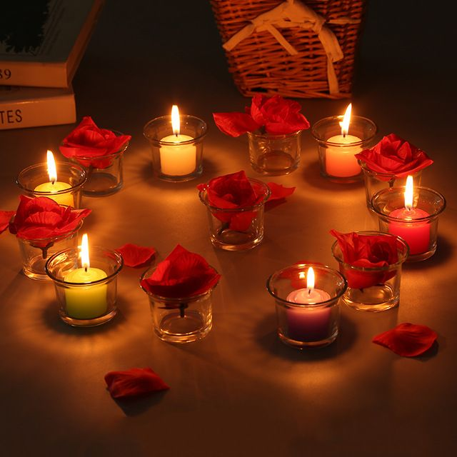 34 Candle Ideas To Add A Romantic Atmosphere To Any Of Your Space Thelatestdailynews Mesas De Jantar Romantico Jantar A Luz De Velas Ideias Romanticas
